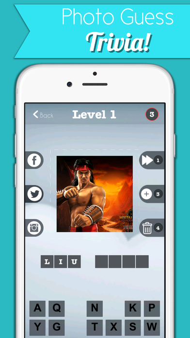 Video Game Character Quiz - The Ultimate Mortal Kombat Fatality Edition Screenshot on iOS