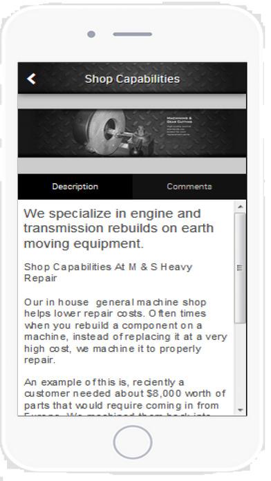 Heavy Engine Rebuilders Screenshot on iOS