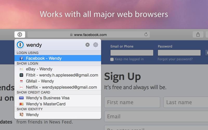 1Password 7.2.1 Mac 破解版 – 最强大的密码管理工具