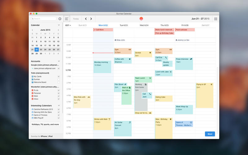 14 Best Calendar Apps For Mac Os X As Of 2019 Slant
