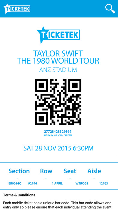 ticketek - photo #17