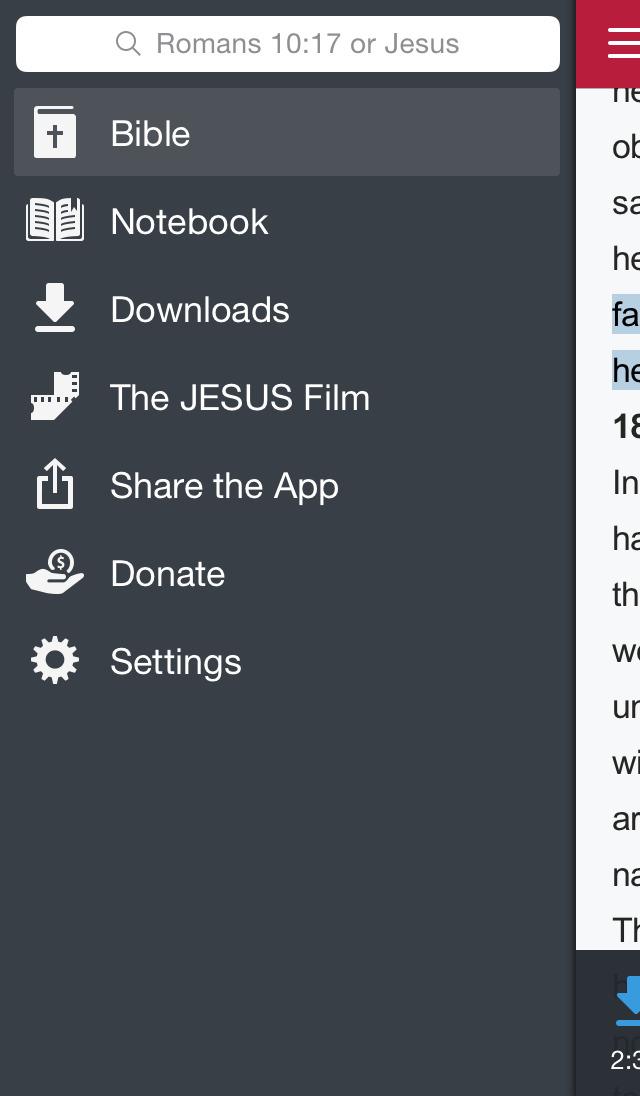 Bible.is Screenshot