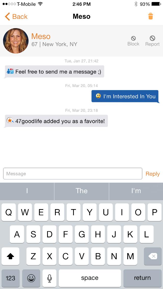 senior people meet android app