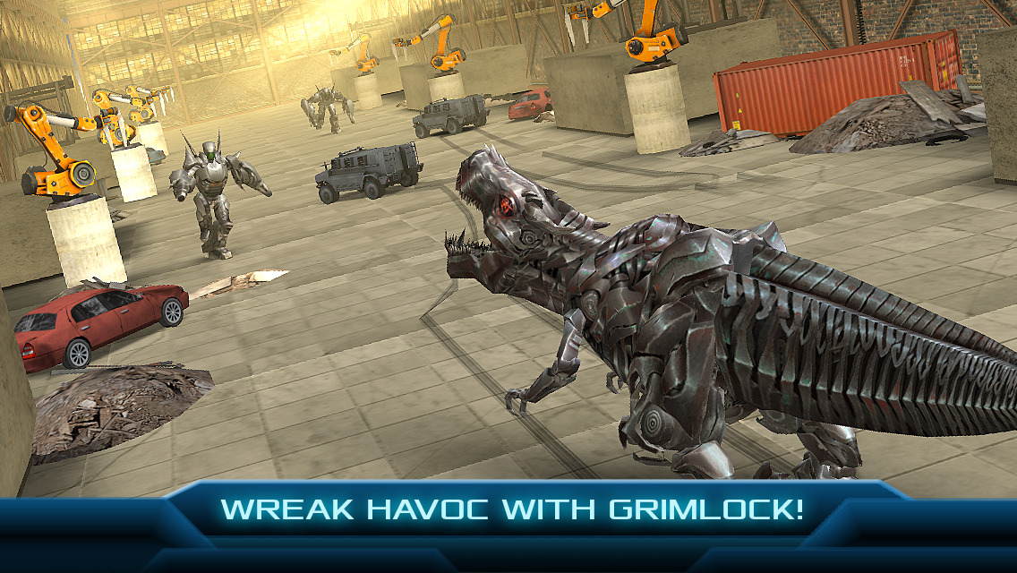 TRANSFORMERS: AGE OF EXTINCTION - The Official Game screenshot-3