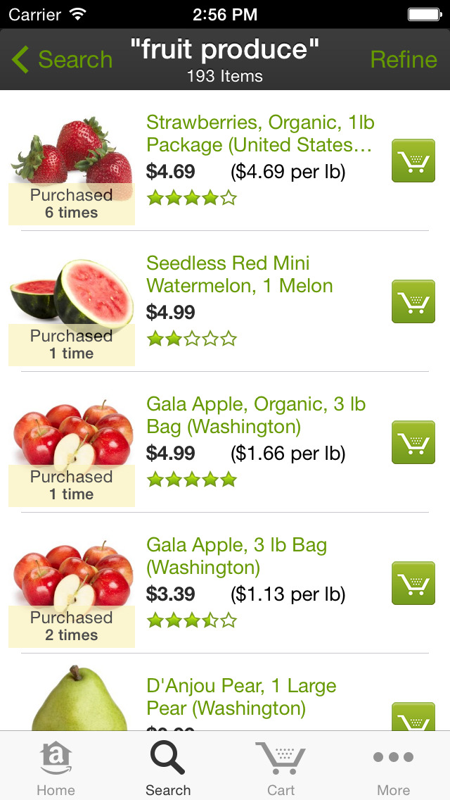 AmazonFresh screenshot-1