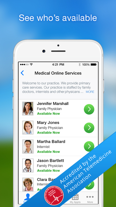 Amwell: Live Doctor Visit Now Screenshot