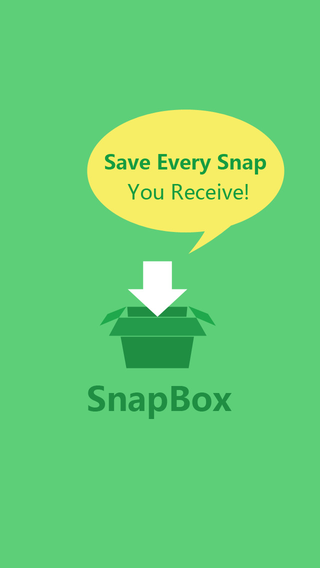 SnapBox - Snap Upload for Snapchat, the best way to save all your snaps, photos & videos free Screenshot on iOS