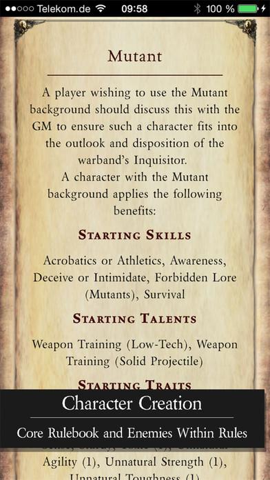 dark heresy background skills