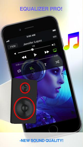 iPhone app / iPad app均衡器專業版/音量增強器工具程式,充分