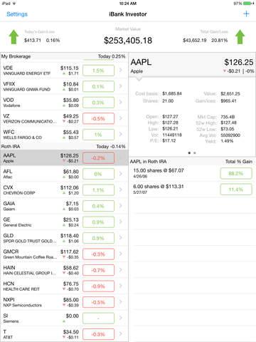Banktivity Investor (formerly iBank Investor) by IGG Software, LLC