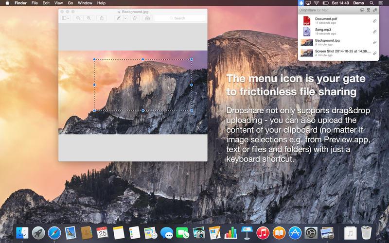網絡文件共享工具 Dropshare for Mac