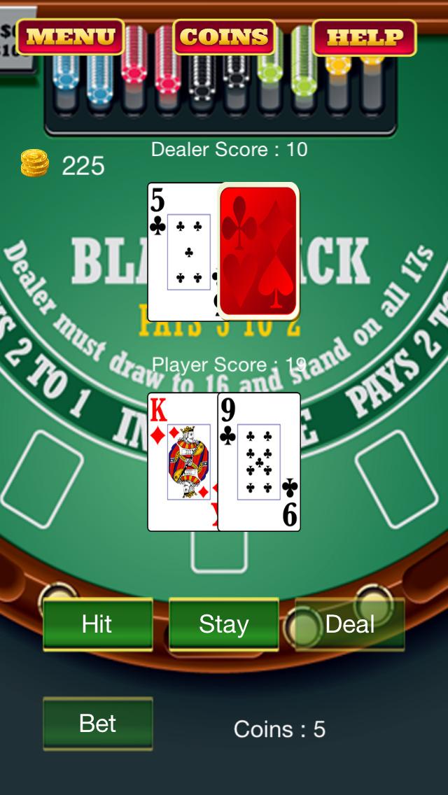 Blackjack table equipment