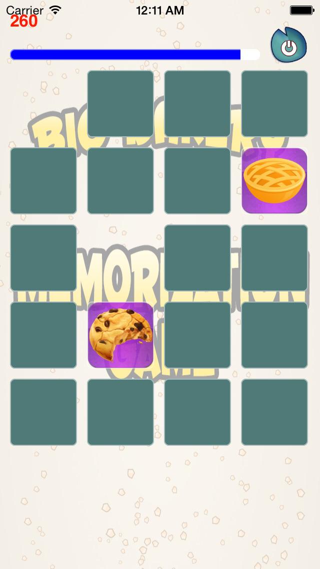 A Aaron Big Bakery Memorization Game Screenshot on iOS