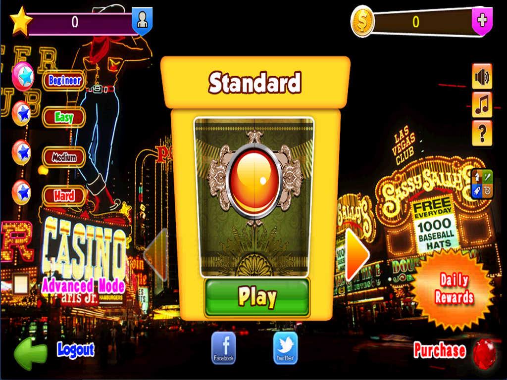 Las Vegas Game App