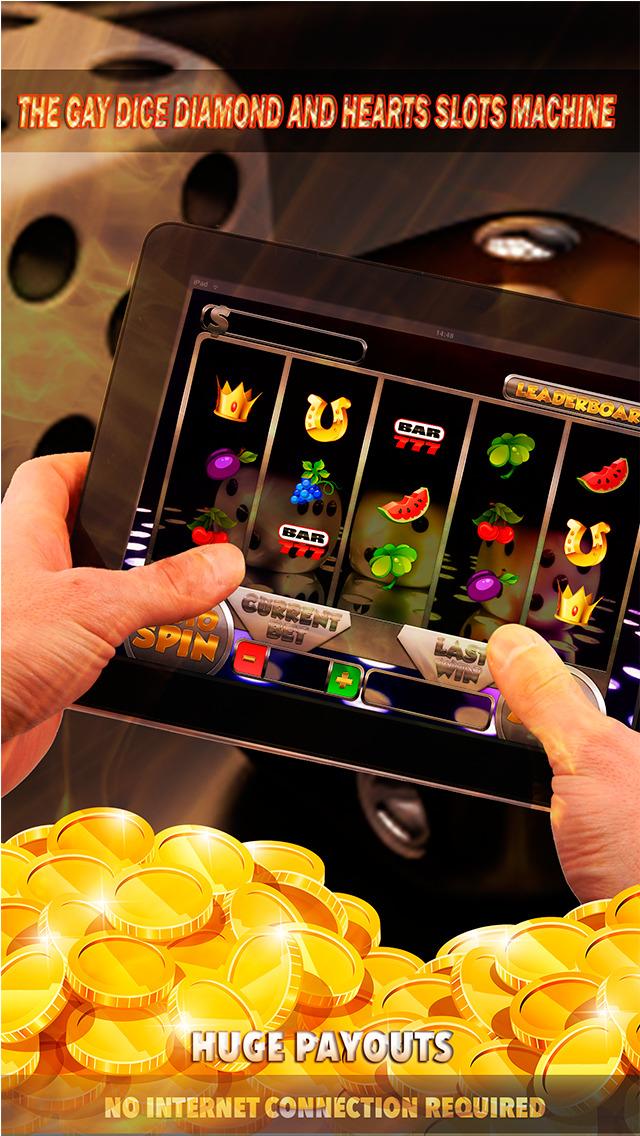Slot machine 3 hearts