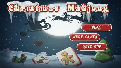 Christmas Mahjong HD Screenshot on iOS