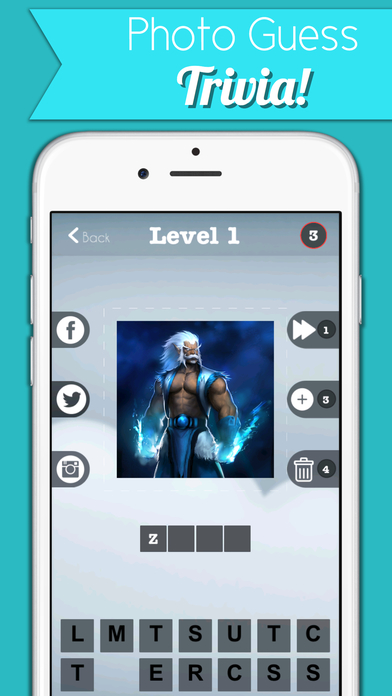 Warlock Hero Trivia - Dota Characters Edition Screenshot on iOS