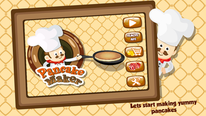 Pancake Maker - Kids Cooking Game Screenshot on iOS