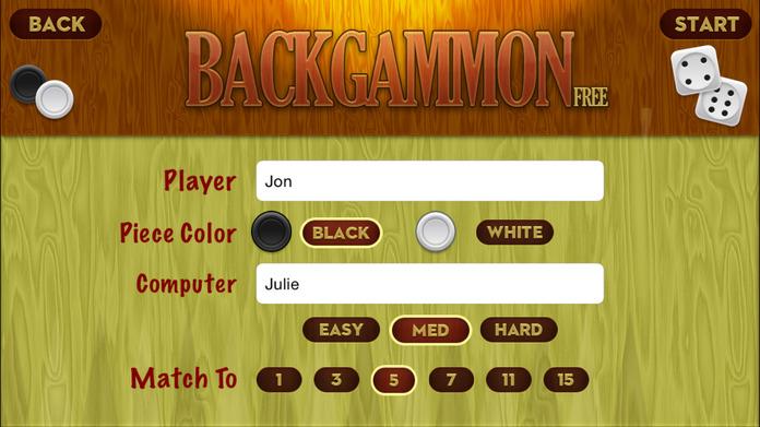 Backgammon Free Screenshot