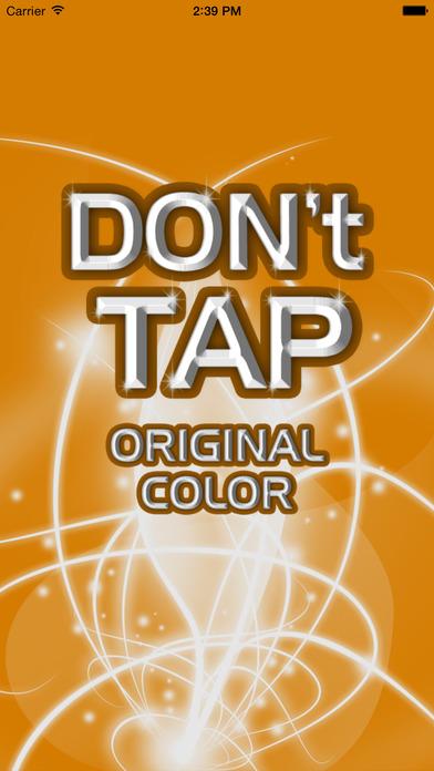 Don't Tap Original Color Screenshot on iOS