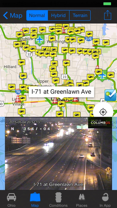 Ohio Cincinnati Cleveland Traffic Camera Apprecs