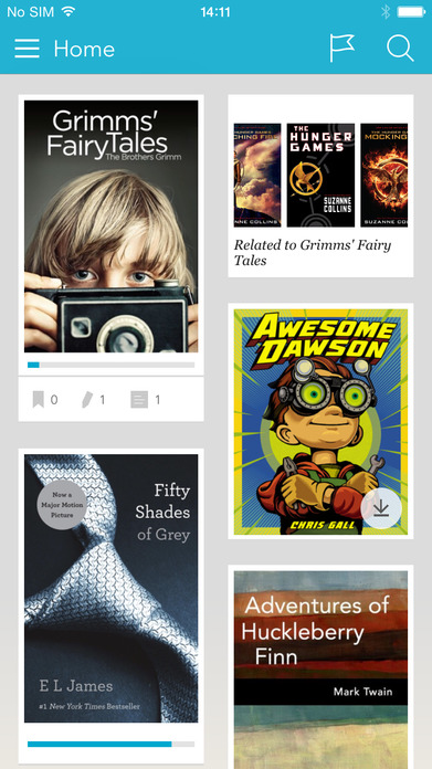 Kobo Reading App – Read Books and Magazines Screenshot