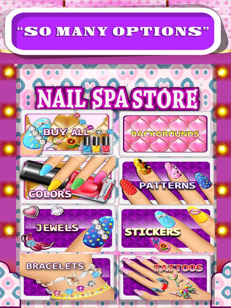App Shopper: Princess Nail Salon For Trendy Girls - Make ...