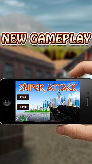 Sniper strategy vs Terrorist Attack Screenshot on iOS