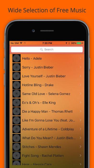 Music. Play. - Unlimited Mp3 Player & Streamer Screenshot