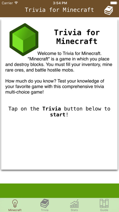 App Shopper: Trivia for Minecraft - Quiz and Craft Guide (Games)