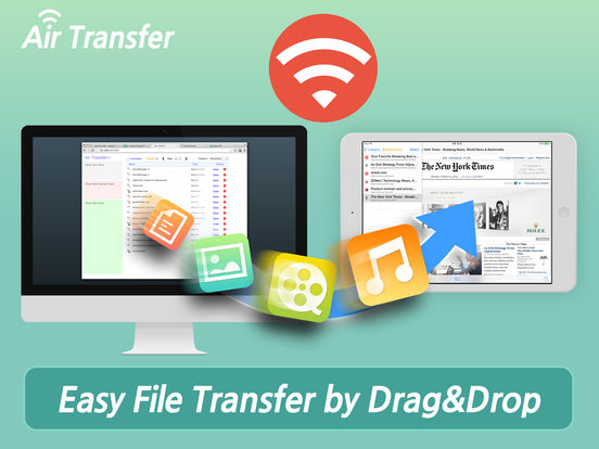 Air Transfer - Easy file transfer from/to your PC. Screenshot