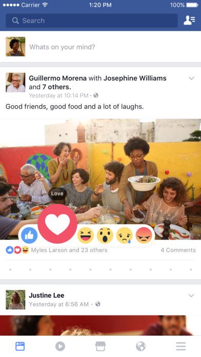 #1. Facebook (iOS)