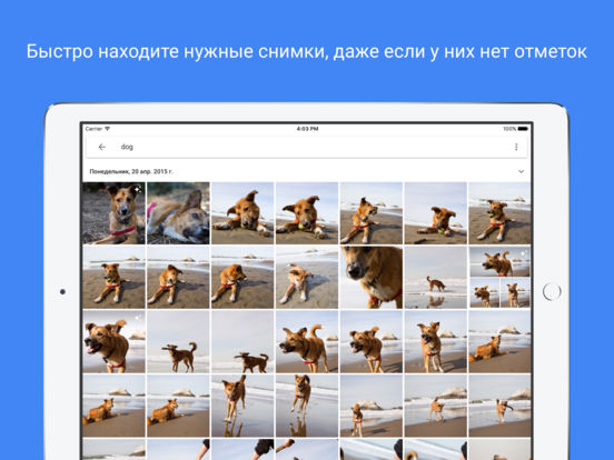Google Фото - фото, видео и хранение Screenshot
