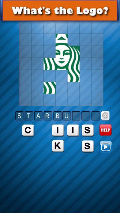 Guess the Logo Pic Brand - Word Quiz Game! Screenshot