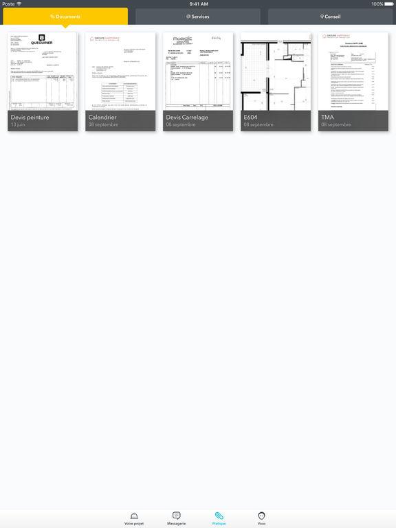 poste habitat mon compte on the app store. Black Bedroom Furniture Sets. Home Design Ideas