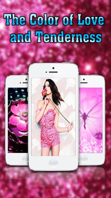 Full HD Pink Wallpapers Screenshots