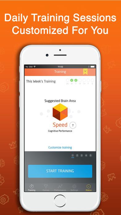 #2. Fit Brains Trainer (iOS)