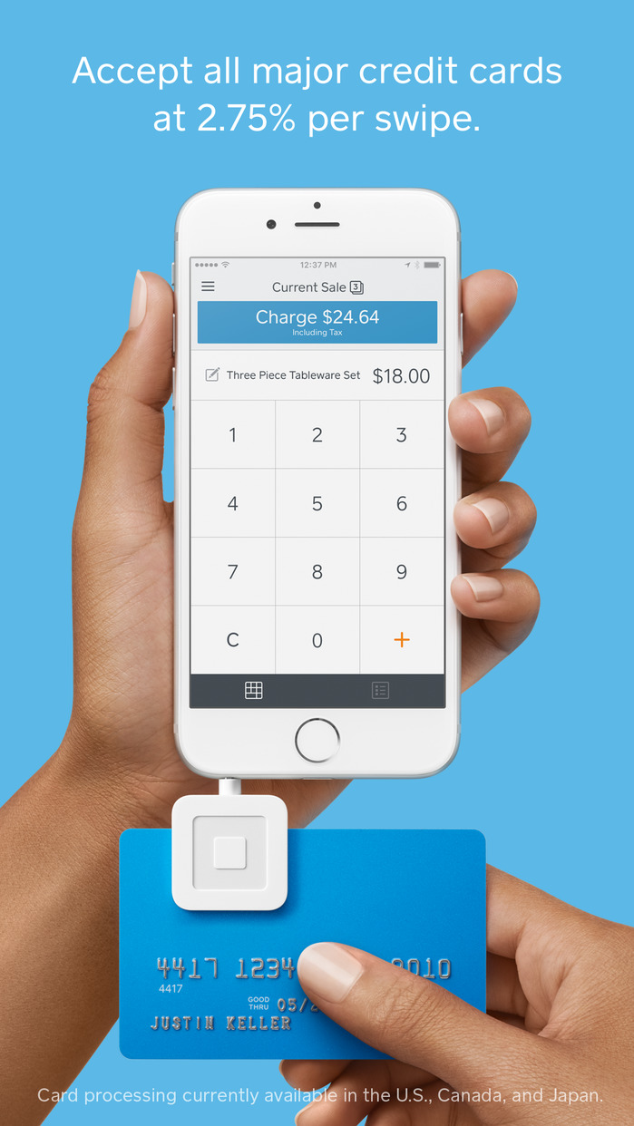 Square Point of Sale - POS System (Register) Screenshot