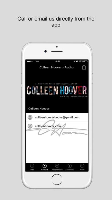 Colleen Hoover - Author Screenshot