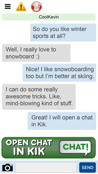 chat and meet kik