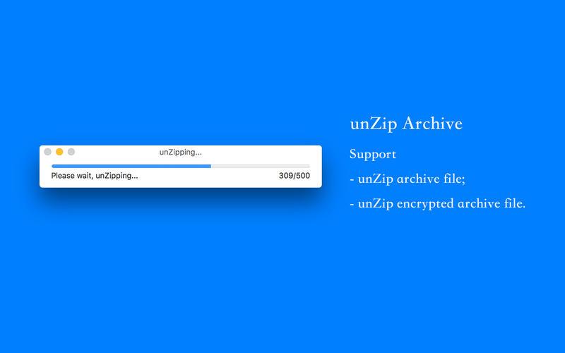 unZip Archive - Extract zip files! on the Mac App Store