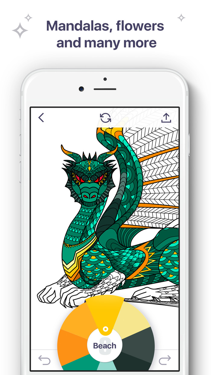 Coloring Book for Me - Coloring pages for adults Screenshot