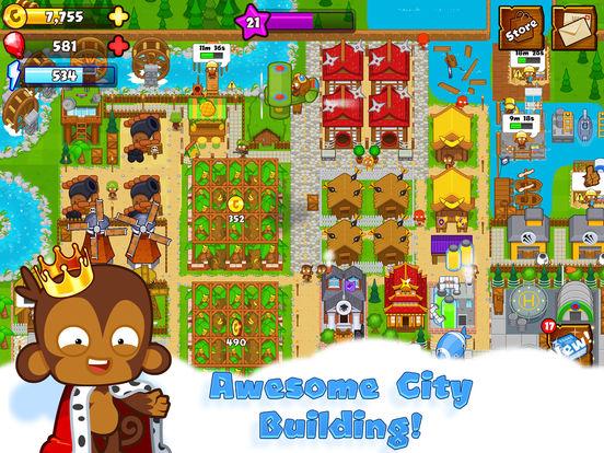 #1. Bloons Monkey City (iOS)