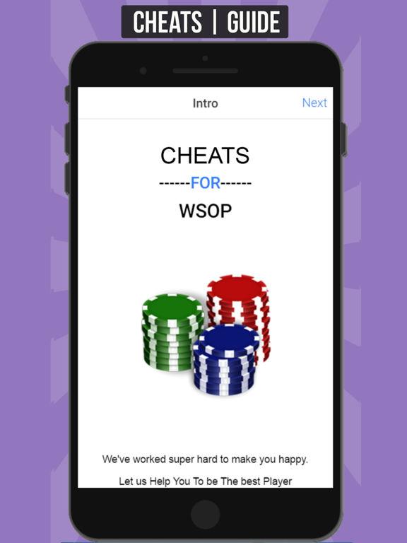 Cheats For Wsop App
