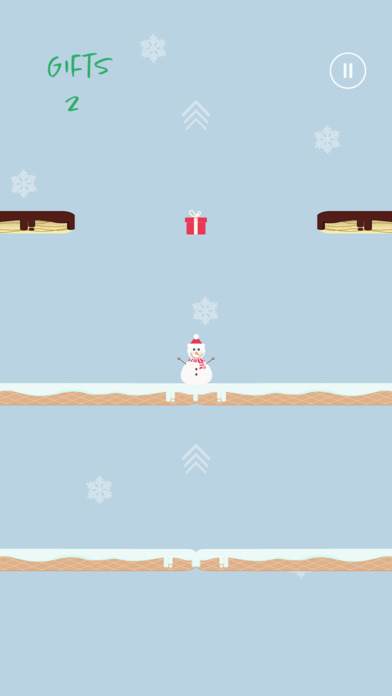 Santa's Jumping Game - Friends Challenge Free Screenshot on iOS