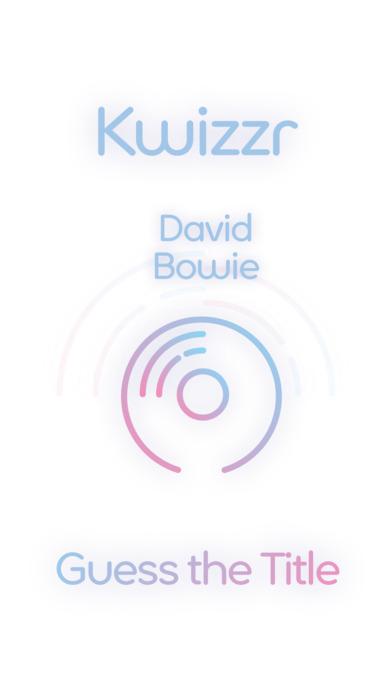 Lyrics Quiz - Guess Title - David Bowie Edition Screenshot on iOS