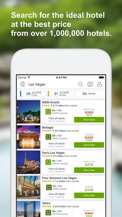 Trivago App Hotel Deals Top Travel Booking Sites Screenshot