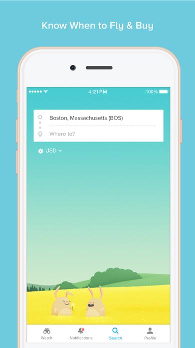 Hopper - Predict, Watch & Book Flights Screenshot