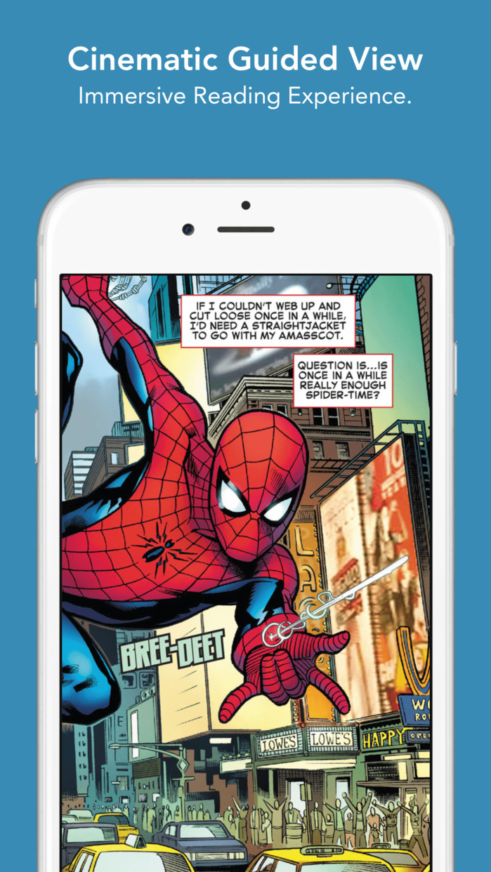 comiXology – Read Comics, Graphic Novels & Manga Screenshot