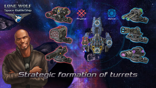Battleship Lonewolf - Space TD IPA Cracked for iOS Free Download
